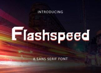 Flashspeed Font