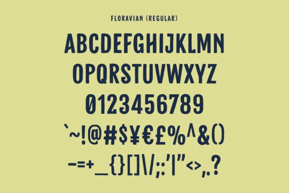 Floravian Font