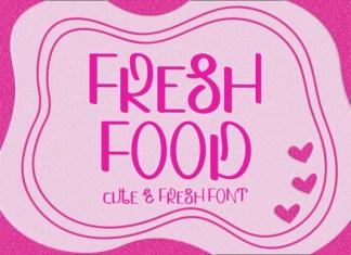 Fresh Food Font