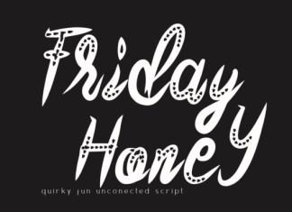Friday Honey Font