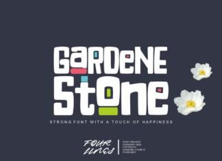 Gardene Stone Font