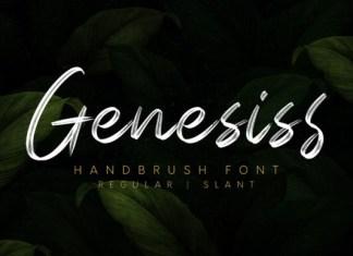 Genesiss Font