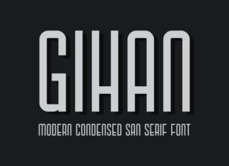 Gihan Font