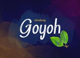 Goyoh Font