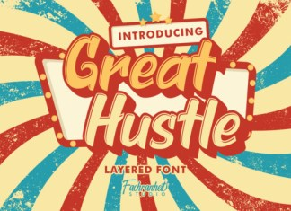 Great Hustle Font