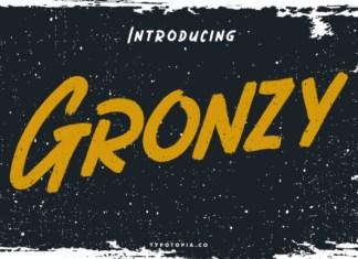 Gronzy Font