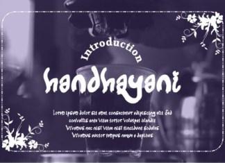 Handhayani Font