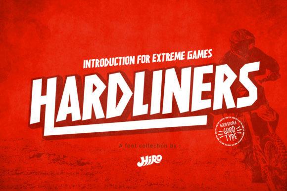 Hardliners Font
