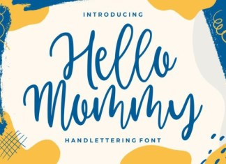 Hello Mommy Font