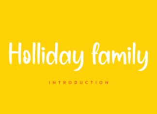 Holliday Family Font