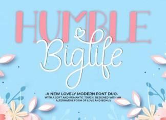 Humble Biglife Font