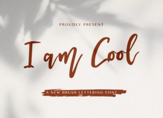 I am Cool Font