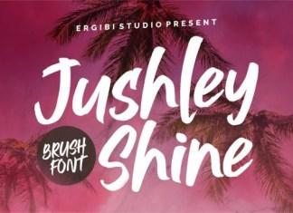 Jushley Shine Font