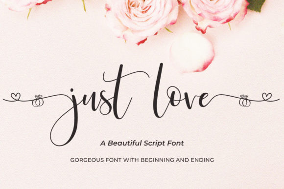 Just Love Font