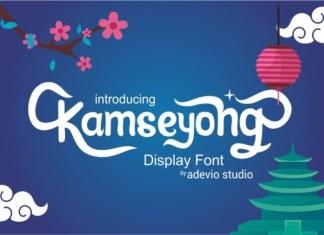 Kamseyong Font