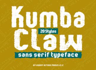 Kumba Claw Font