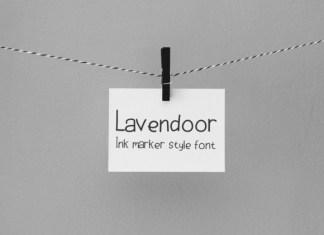 Lavendoor Font