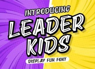 Leader Kids Font