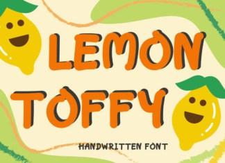 Lemon Toffy Font