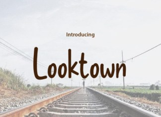 Looktown Font