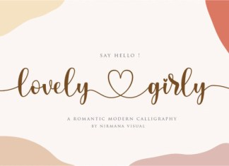 Lovely Girly Font