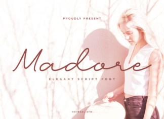 Madore Font