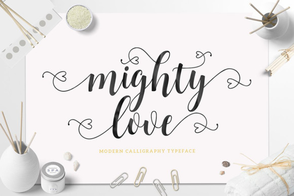 Mighty Love Font