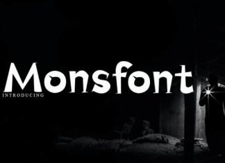 Monsfont Font