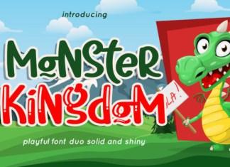 Monster Kingdom Font
