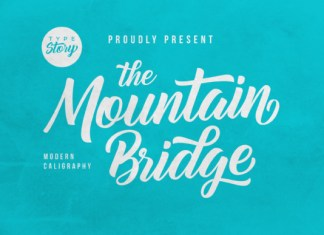 Mountain Bridge Font
