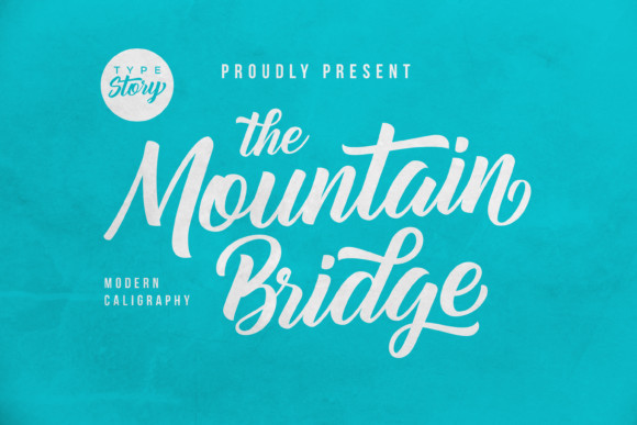 Mountain Bridge Font