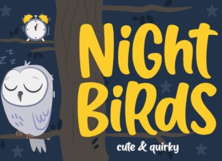 Night Birds Font