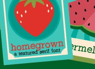 PN Homegrown Font