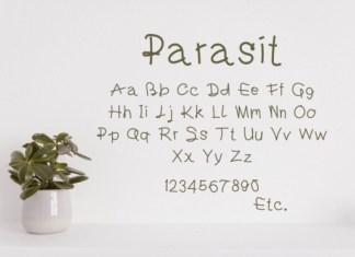 Parasit Font