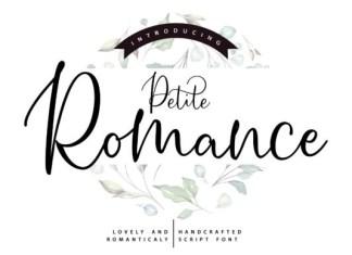 Petite Romance Font