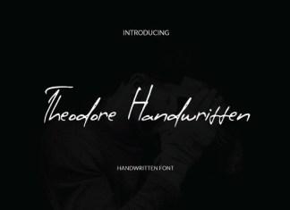 Theodore Handwritten Font
