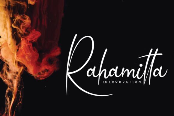 Rahamitta Font
