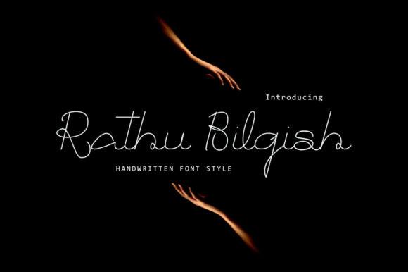Rathu Bilqish Font