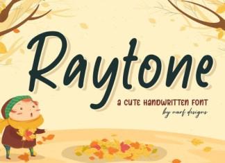 Raytone Font