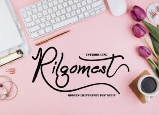 Rilgomest Font