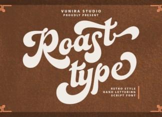 Roast Type Font
