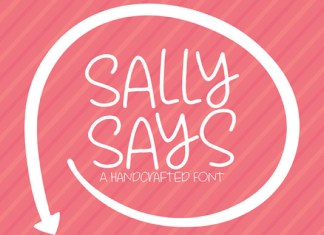 Sally Says Font