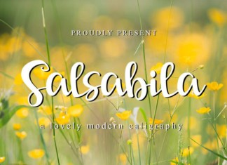 Salsabila Font