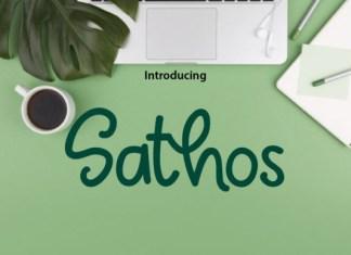 Sathos Font
