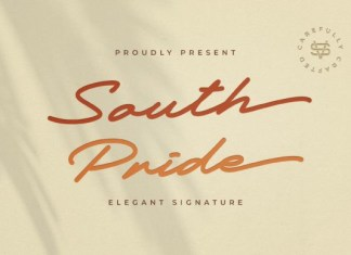 South Pride Font