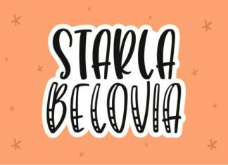 Starla Belovia Font