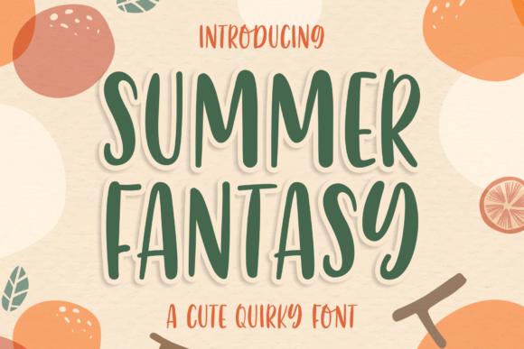 Summer Fantasy Font