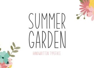 Summer Garden Font