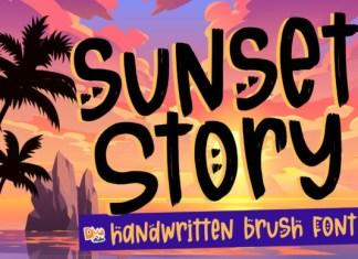 Sunset Story Font