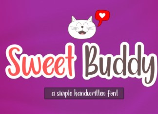 Sweet Buddy Font